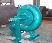 水轮机式冷却塔